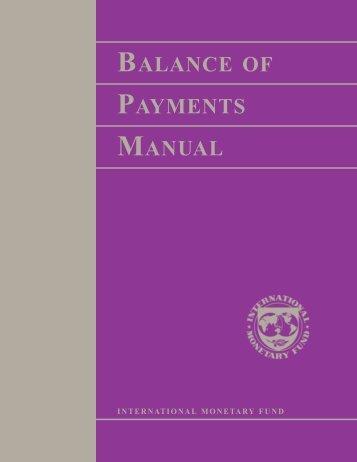 Balance of Payments Manual - CIRCABC