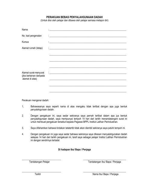 panduan pendaftaran pelajar baru - Kementerian Sumber Manusia