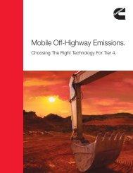 Mobile Off-Highway Emissions. - Cummins Engines