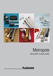 Silent Gliss Metropole Brochure - Justpoles.com
