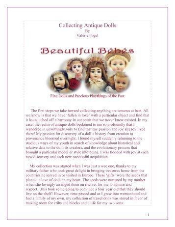 The Joy and Process of Collecting Antique Dolls - Beautiful Bébés