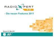 Neue Features RadioXpert 4.0 (Wochentagsreichweiten)