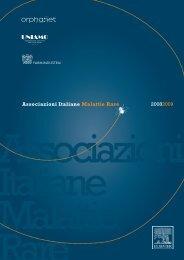 Associazioni Italiane Malattie Rare 20082009 - malatirari.it
