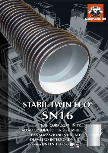 Tubi e raccordi Stabil TWIN ECO SN16 - Crocispa.it