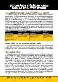 Ön mit tesz káros hatásaik megelőzése érdekében? - Complexlab - Page 6