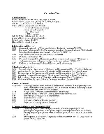 Resume name phd