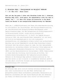 2. Minergie Expo - Schweizer Holz-Revue