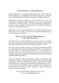 Public Diplomacy and Conflict Resolution - USC Center on Public ... - Page 4