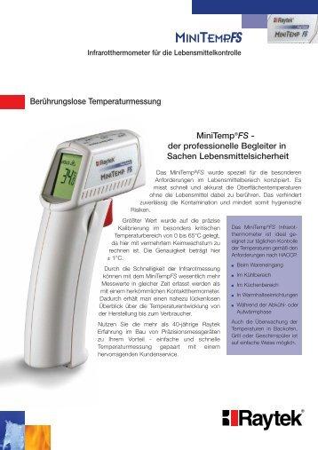 Berührungslose Temperaturmessung MiniTemp®FS - Meyer ...