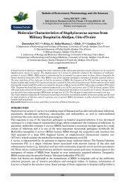 Molecular Characteristics of Staphylococcus aureus ... - ResearchGate