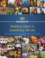2012 Bank of America Merrill Lynch Global Metals, Mining & Steel ...