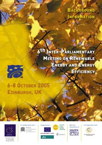Conference Programme 2005.indd - Eufores