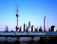 Economy Specific Information - USC Marshall - University of ...