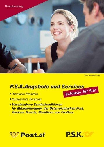 P.S.K.Angebote und Services - Österreichische Post AG
