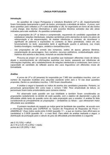 Prova comentada - Vestibular UFSC/2010