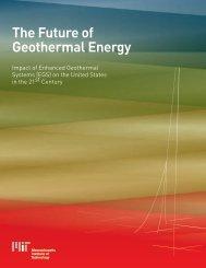 The Future of Geothermal Energy – Impact of Enhanced ... - EERE