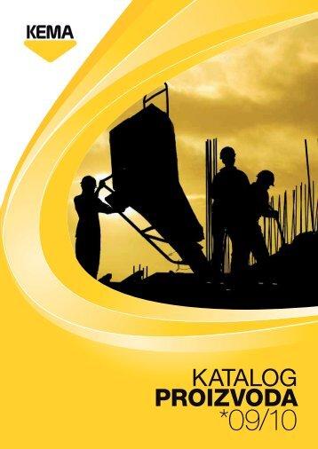 Katalog proizvoda 09/10 - Kema.si
