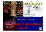 Kontrastmittel in der - Institut für Radiologie, Nuklearmedizin und ...