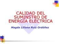 Introducción a la calidad de suministro de la Energía Eléctrica