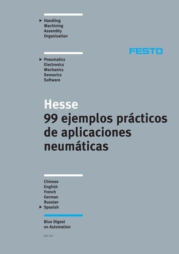 99 ejemplos practicos de aplicaciones neumaticas festo
