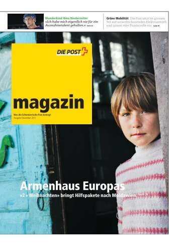 magazin - Ausgabe November 2011 - Postauto