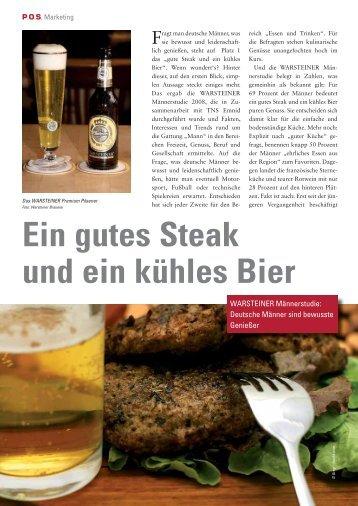 Ein gutes Steak und ein kühles Bier - POS kompakt