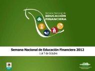 5a. Semana Nacional de Educación Financiera en México