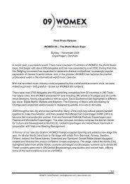 Final Press Release - Womex