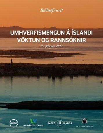 Mengun á Íslandi - Matís