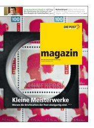 magazin - Was die Schweizerische Post bewegt - Ausgabe - Postauto