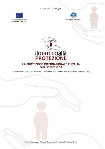 Il Diritto alla Protezione - ASGI - Anci Toscana