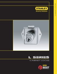 L series catalog - Best Access Systems