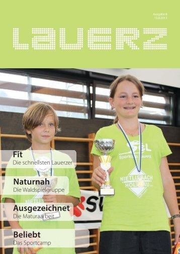 Schnellster Lauerzer 2013 - Gemeinde Lauerz