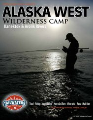 Download Our Brochure - Tailwaters Fly Fishing Co.