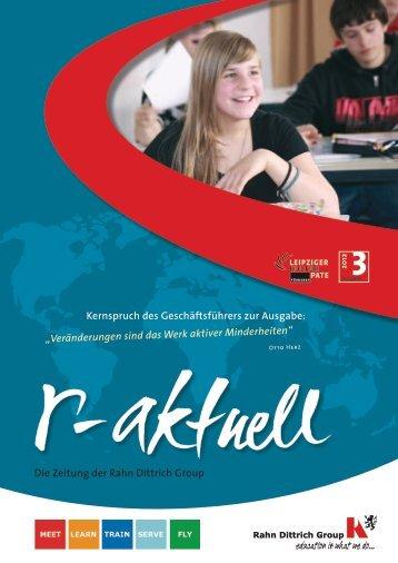 Die Zeitung der Rahn Dittrich Group Kernspruch des ...
