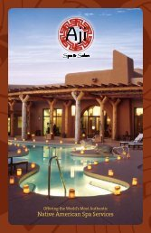 Native American Spa Services - Sheraton Wild Horse Pass Resort ...