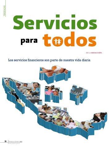 Los servicios financieros son parte de nuestra vida diaria - Condusef