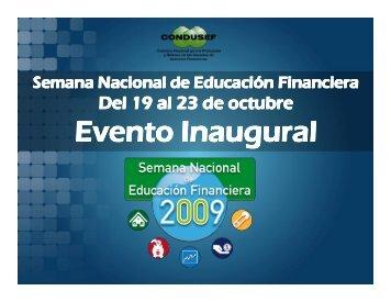 Cultura Financiera en México, Banamex‐UNAM, 2008 - Condusef