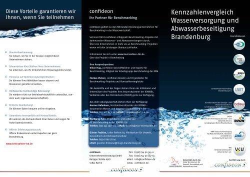 Kennzahlenvergleich Wasserversorgung und Abwasserbeseitigung ...