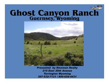 Ghost Canyon Ranch - LandAndFarm.com