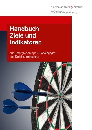 Handbuch Entwicklung von Zielen und Indikatoren - IMAG Gender ...