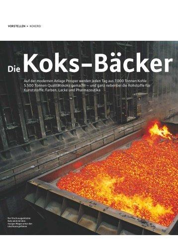 Koks-Bäcker - RAG Deutsche Steinkohle