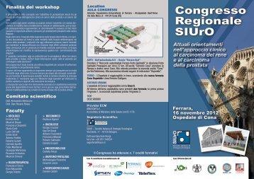 Congresso Regionale SIUrO - Azienda Ospedaliera S. Anna