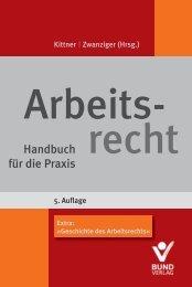 Geschichte des Arbeitsrechts - Bund-Verlag GmbH