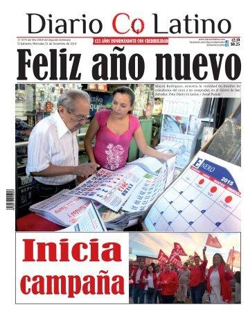 Edición 31 de Diciembre de 2014