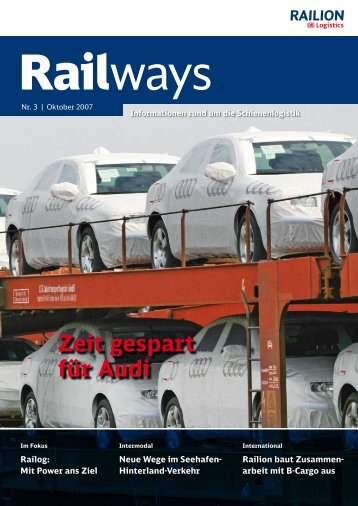 Zeit gespart für Audi - DB Schenker Rail