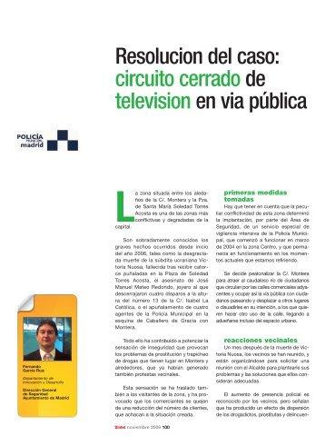 circuito cerrado de television en via pública - Revista DINTEL Alta ...