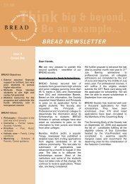 NL Issue 11 Oct 06 - Bread Society India