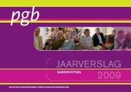 PGB jaarverslag 2009 (samenvatting)_PGB populair.qxd.qxd