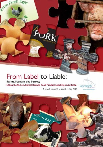 From Label to Liable: Scams, Scandals and Secrecy - Voiceless